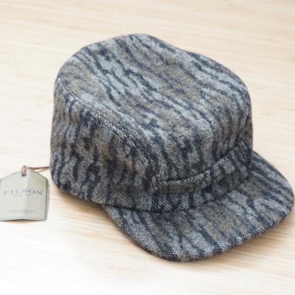 cd6007ffb9c Filson x Mossy Oak Mackinaw Wool Cap